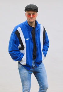 Reebok Athletics Retro 90s Track & Field Sportswear Jacket