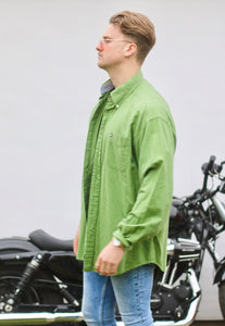 Tommy Hilfiger USA Pistachio Green Vintage Shirt