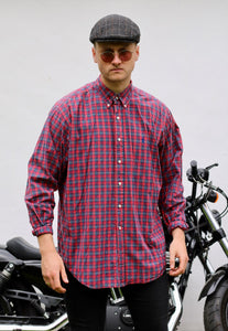 Ralph Lauren Blake USA Tartan Plaid Check Shirt