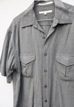 Perry Ellis Greyscale Modernist Shirt