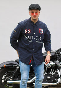 Nautica USA 83 North Passage Flagship Edition Shirt