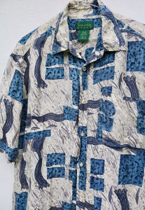 Scandia Woods USA Vintage Lightweight Tapestry Shirt