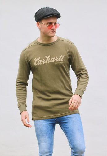 Carharrt USA Ribbed Signature Sweatshirt