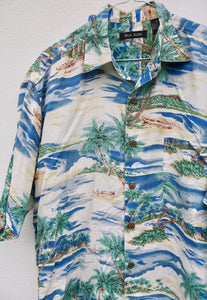 Icon Vintage Desert Island Short Sleeve Shirt
