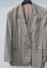 Pierre Cardin Stunning USA Double Breasted Check Jacket
