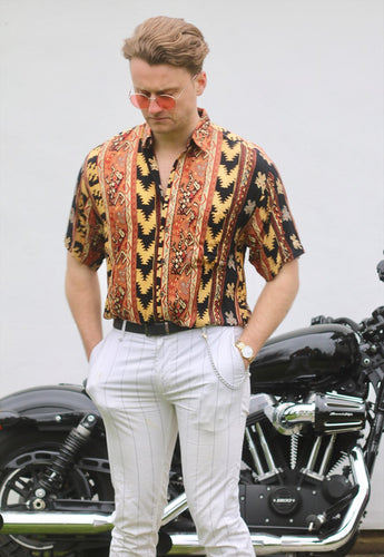 Alvo USA Vintage Navajo Short Sleeve Shirt