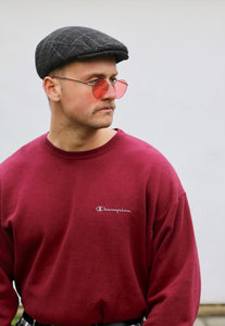 Champion USA Minimalist Cardinal Red Sweatshirt