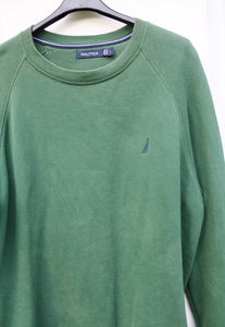 Nautica USA 90s Emerald Green Sweatshirt