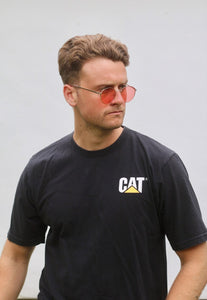 CAT USA 90s Vintage Workman's T-Shirt