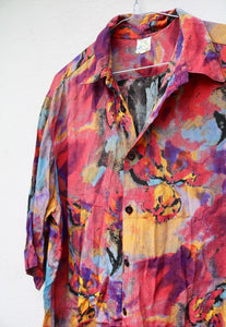 Stunning USA 90s Abstract Art Vintage Shirt