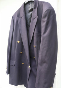 Jaeger Stunning English Double Breasted Heavyweight Jacket