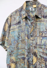 CSC Water Colour Abstract Vintage Shirt