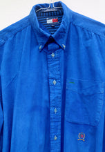 Tommy Hilfiger USA Electric Blue Corduroy Shirt