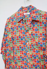 Henry Morell USA Vintage Tapestry Mosaic Shirt