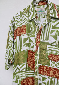 McO'Neill Tapestry Jungle Vintage 1/4 Button Shirt