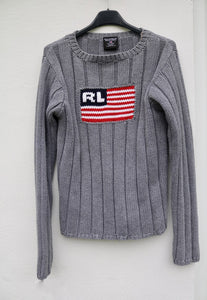 Ralph Lauren Polo Jeans USA Flagship Knitted Jumper