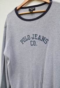 Ralph Lauren Polo Jeans Co USA Ribbed Sweatshirt