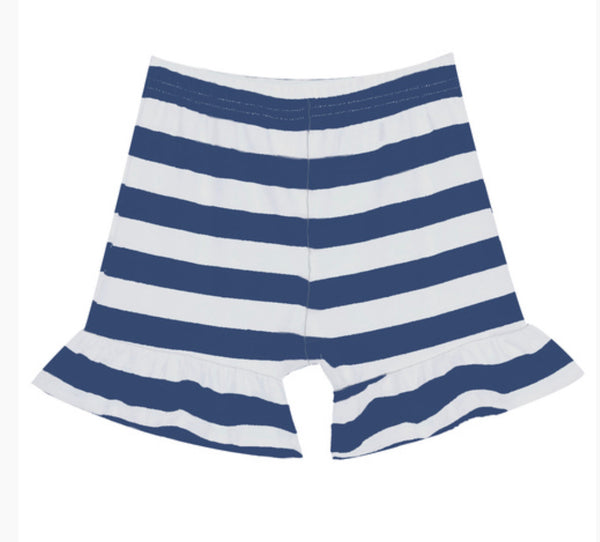 Stripe Ruffle Shorts (6 colors)