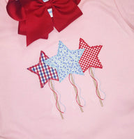Star Trio Applique