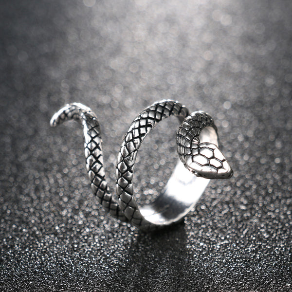 Bague serpent profil