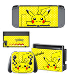 Autocollant Sticker Skin Set Pokemon pour Nintendo Switch