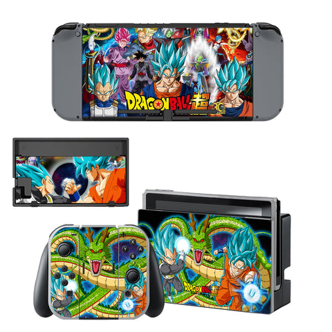Autocollant Sticker Skin Set Dragon Ball pour Nintendo Switch