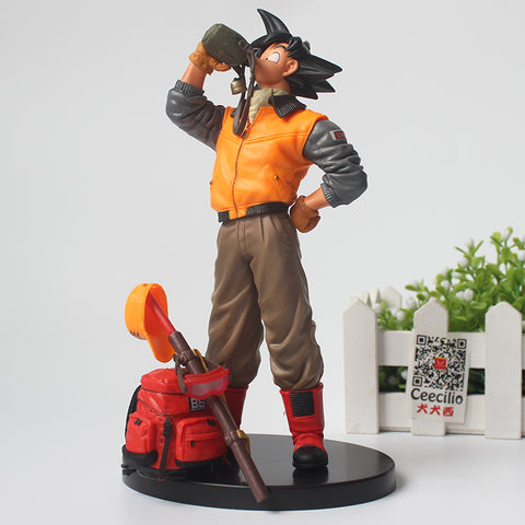Figurine Dragon Ball Goku qui boit de l'eau