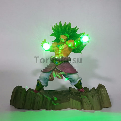 Figurine Lampe Dragon Ball Broly SSJ3 LED