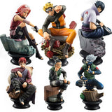 Set de 6 Figurines Naruto
