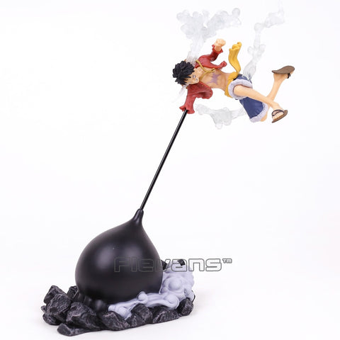 Figurine One Piece Monkey D Luffy Attaque