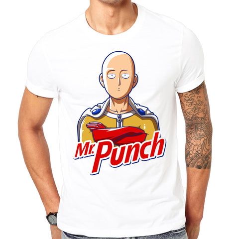 Tshirt One Punch Man - Mr Punch