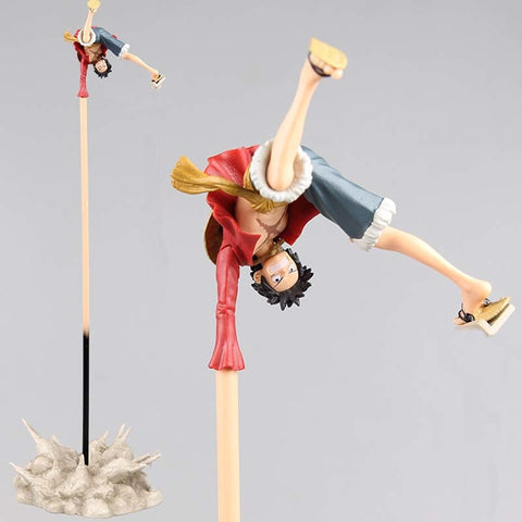Figurine One Piece Luffy Bras Long