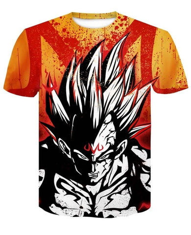 Tshirt Dragon Ball Z Majin Vegeta