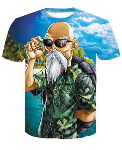 Tshirt Dragon Ball Z Tortue Géniale