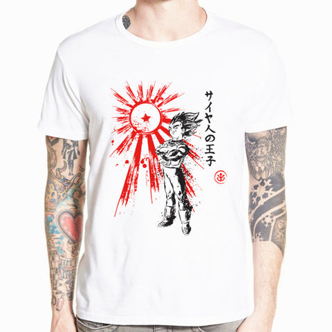 T-Shirt Dragon Ball Vegeta Saiyan Prince