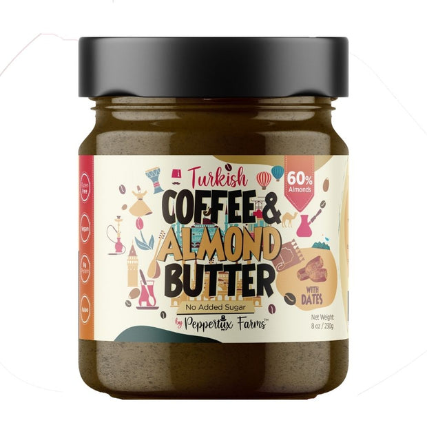 Turkish Coffee & Almond Butter with Dates - No Added Sugar 1