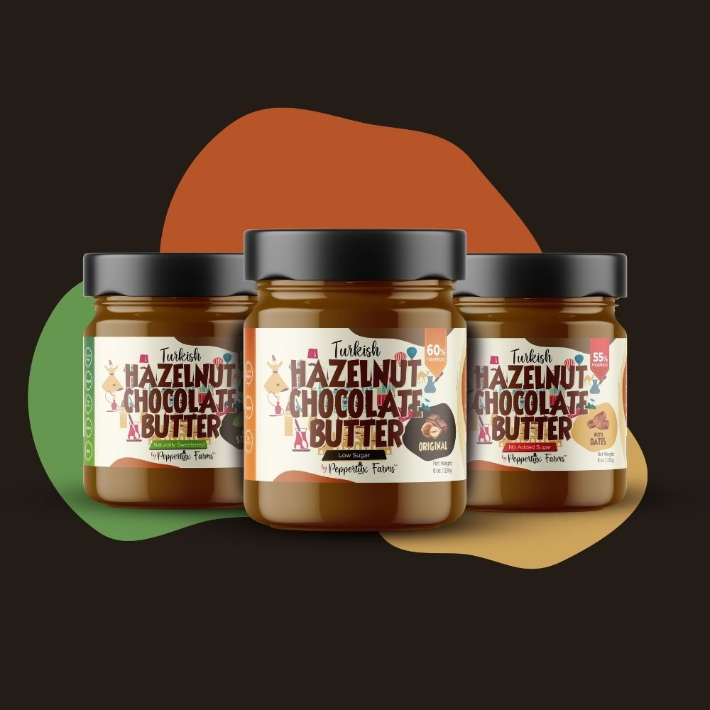 Chocolate Hazelnut Butter with Dates - No Sugar Added