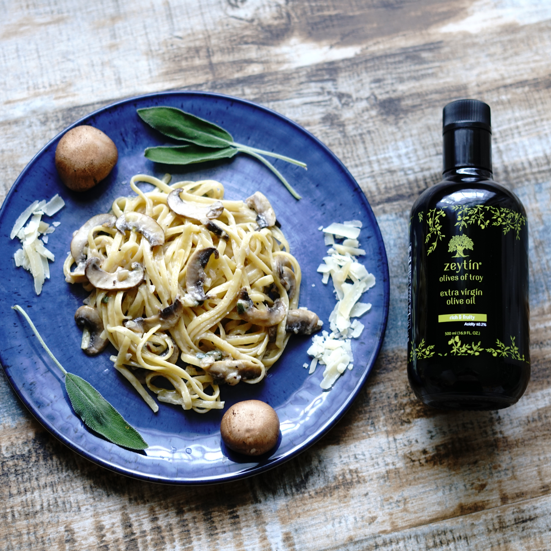Extra Virgin Olive Oil 500ml - Rich & Fruity (Medium-Robust) - Zeytin - Olives of Troy