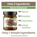Hazelnut Chocolate Butter with Stevia - Naturally Sweetened 1