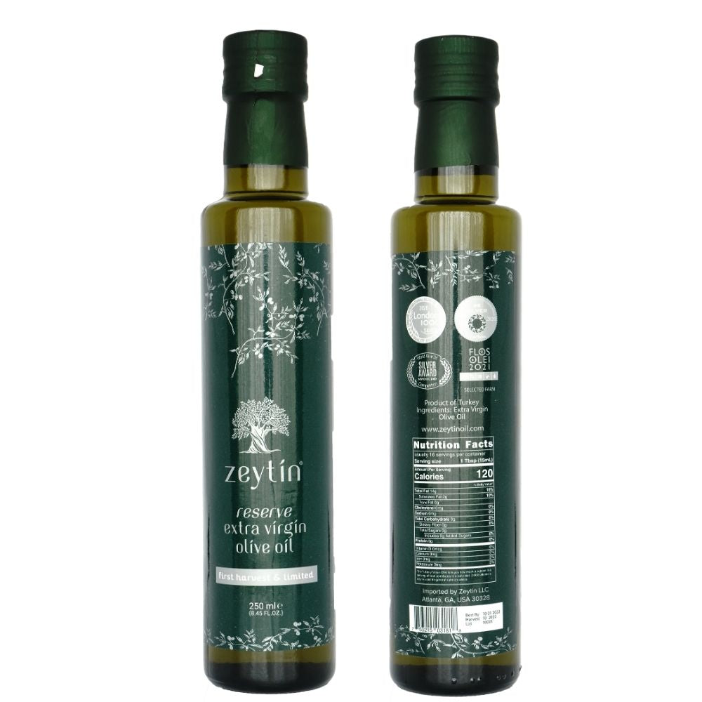 Reserve Extra Virgin Olive Oil 250ml - First Harvest & Limited (Robust)