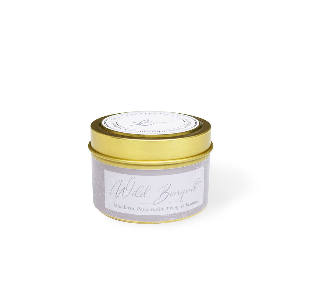 Aromatherapy candle - Wild Bouquet 4oz