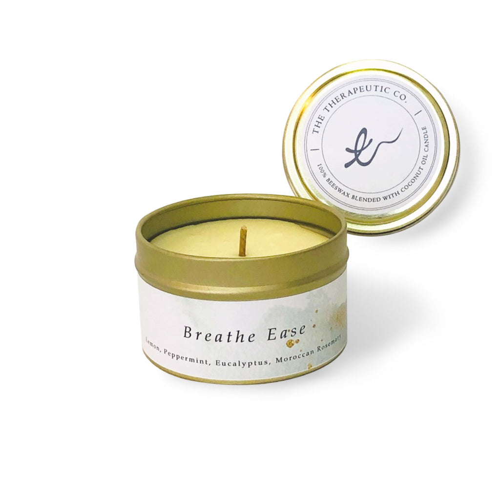 Breathe ease aromatherapy beeswax candles are good for people with nose allergies.