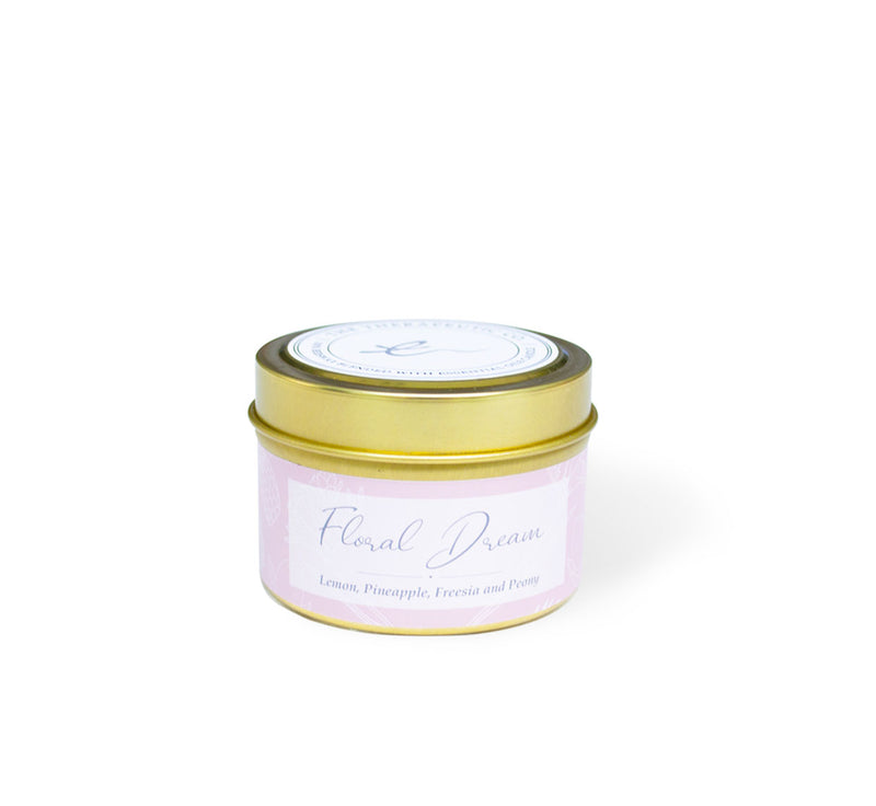 Floral scented beeswax candle. An exquisite fresh and warming blend of lemon and pineapple complemented by the florals of freesia and peony. Rich and earthy sandalwood, caramel and musk provide real depth to this candle scent.