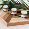 Aromatherapy beeswax candles - lemongrass and coconut