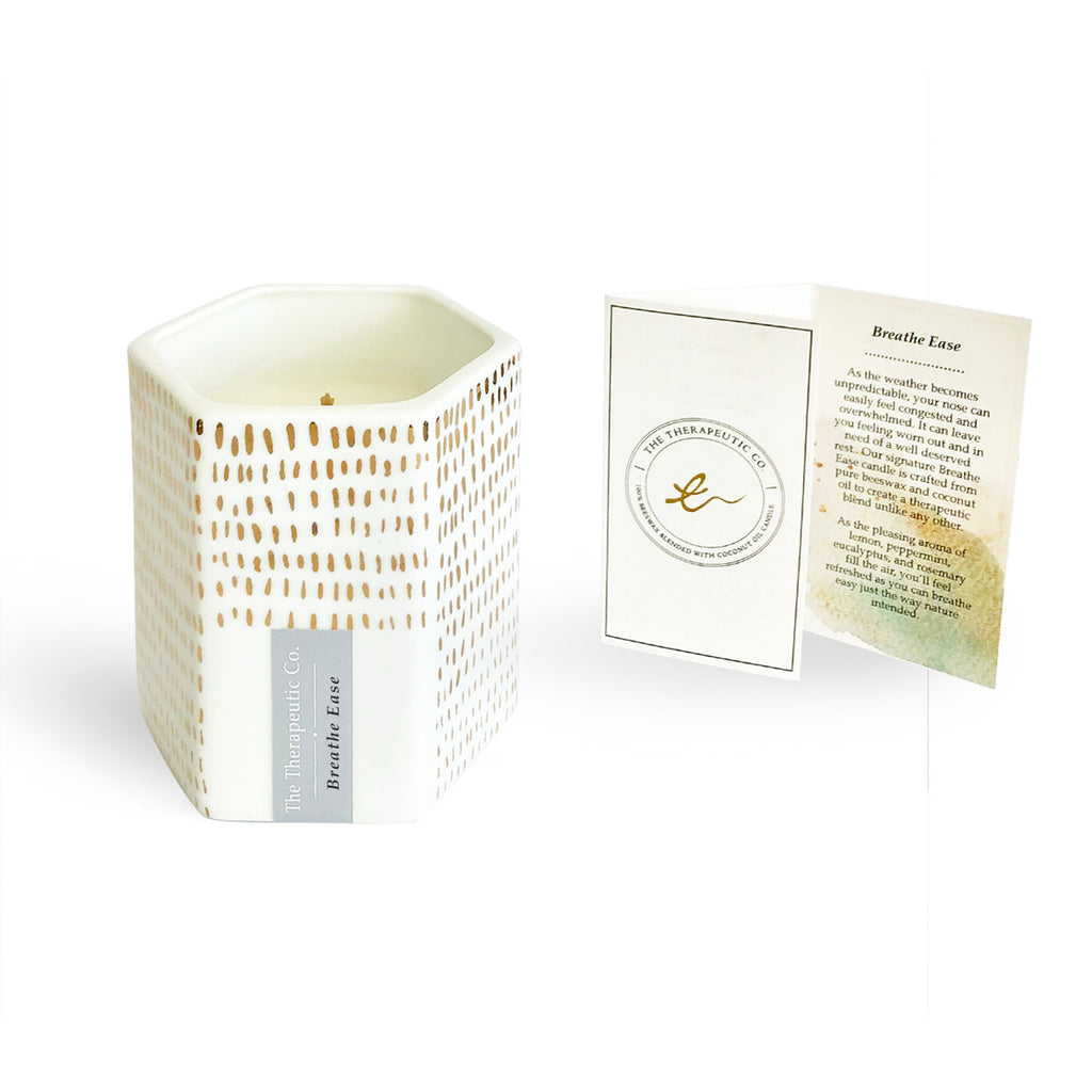 Jovie Jar aromatherapy beeswax candles - breathe ease is soothing for the nose. Highly recommended for people with nose allergies and would like to own a candle.