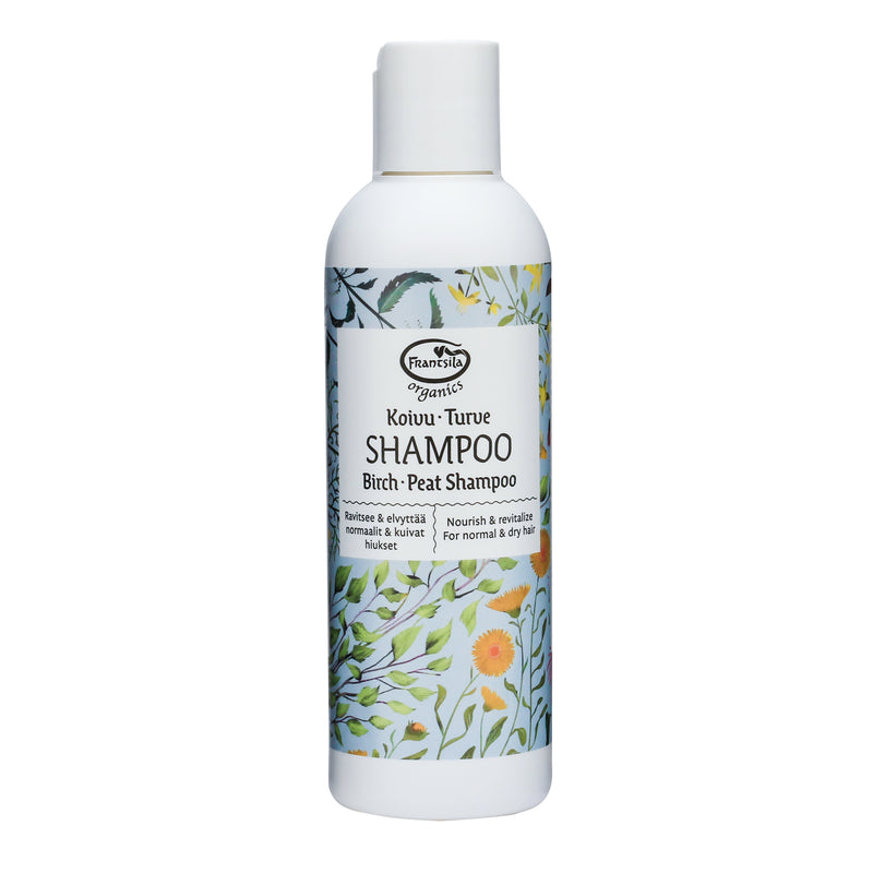 Birch peat shampoo, 200 ml