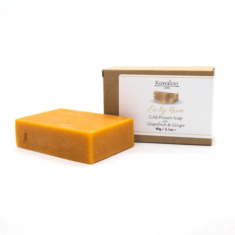 COLD PRESSED 'Ee by Gum' Soap 90g - Grapefruit & Ginger