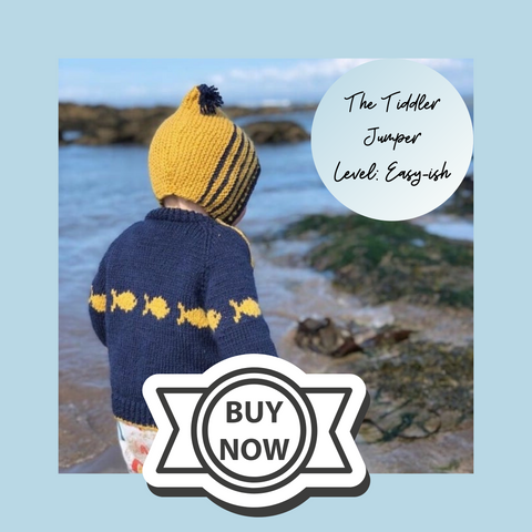 tiddler jumper knit kit link