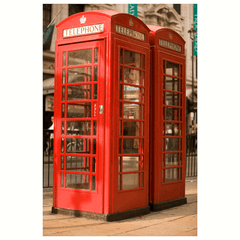 British telephone boxes