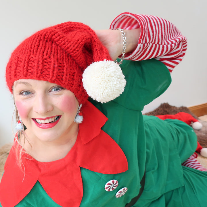Elf Hat Knit Kit